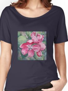 Flower of Crab-apple Women's Relaxed Fit T-Shirt