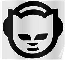 Napster (Black/White) Poster