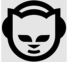 Napster (Black/White) Photographic Print