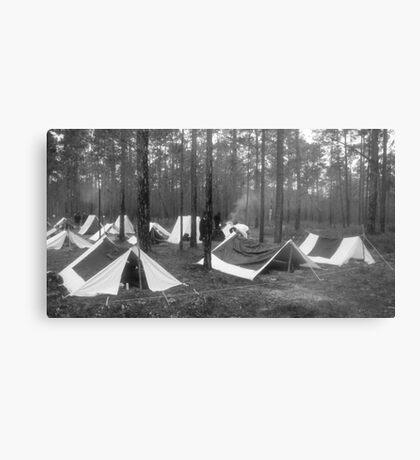 Yankee camp Metal Print