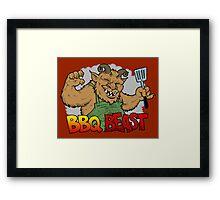Jeffro's BBQ Beast Framed Print