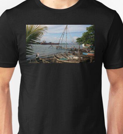 China Net for fishing Unisex T-Shirt