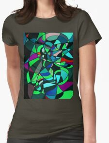 RAINBOW SNAKE 1.13 Womens Fitted T-Shirt