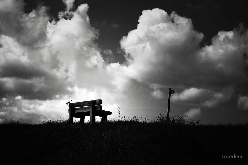 Sit Awhile.... by rosedew