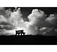 Sit Awhile.... Photographic Print