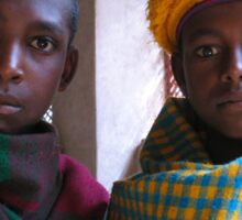 Young Religious Scholars, Kuskuam Maryam, Ethiopia Sticker