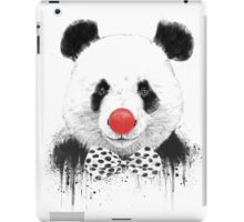 Clown panda iPad Case/Skin