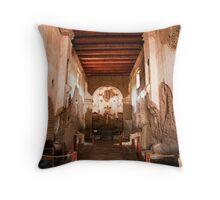 Chapel at Tumacacori Throw Pillow