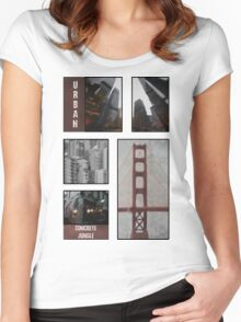 Concrete Jungle Women's Fitted Scoop T-Shirt
