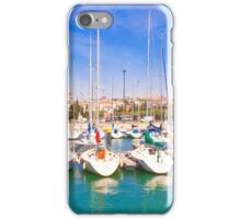 yacht club and the monastery iPhone Case/Skin