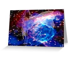 Stellar Winds of Color Greeting Card