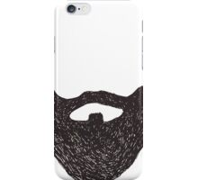 WITH A GREAT BEARD COMES GREAT RESPONSIBILITY iPhone Case/Skin