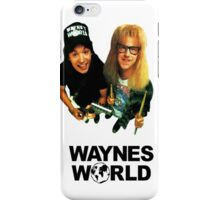 Wayne's World iPhone Case/Skin