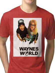 Wayne's World Tri-blend T-Shirt