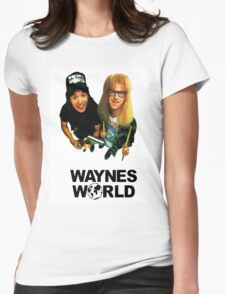 Wayne's World Womens Fitted T-Shirt