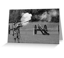 Battle of the boyne re-enactment  #4 Greeting Card