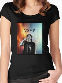 Asap Rocky VSVP Women's Fitted Scoop T-Shirt
