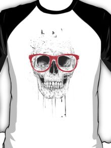 Skull with red glasses T-Shirt