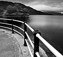 Loch Katrine - View From The Pier by Kevin Skinner