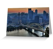 Pittsburgh Revisited VI HDR Greeting Card