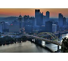 Pittsburgh Revisited VI HDR Photographic Print