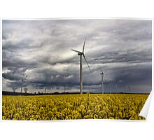 Wind Power Poster