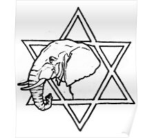 The elephant of wisdom Poster
