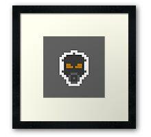 Retro Psycho Mantis Framed Print