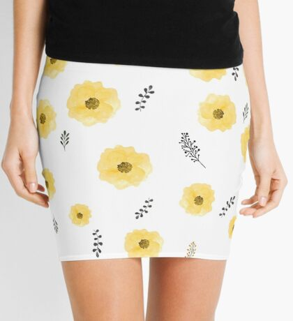 Royal baby florals Mini Skirt