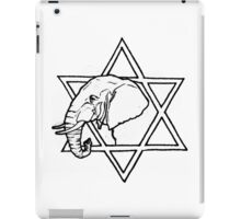 The elephant of wisdom iPad Case/Skin
