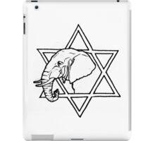 The elephant of wisdom iPad Case/Skin