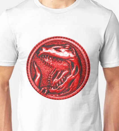 Red Ranger Power Coin Unisex T-Shirt