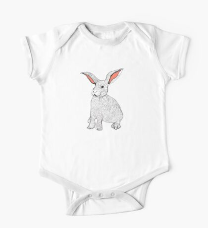 Rabbits One Piece - Short Sleeve