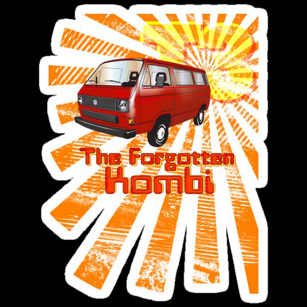 Volkswagen Kombi Tee shirt - T3 the Forgotten Kombi by KombiNation