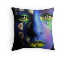Shiva III Throw Pillow