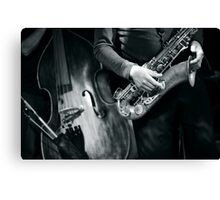 Brassed Off Bass Canvas Print