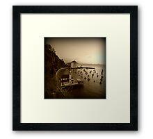 """Avalon"" Digitally Altered Photography / Avalon Media Framed Print"