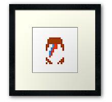 Retro Ziggy Stardust Framed Print