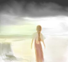 The Woman on the Beach by Jessielee72