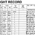 Pilot's Log Book  by Casey Herman
