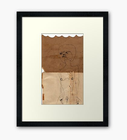 3 pages Framed Print