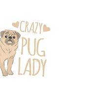 Crazy Pug Lady by jazzydevil