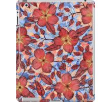 Coral Summer - a hand drawn floral pattern iPad Case/Skin