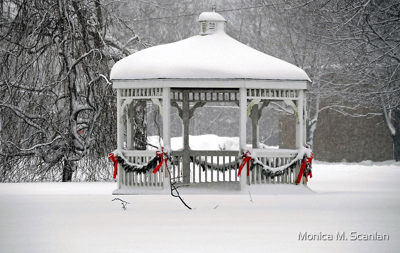 Holiday Gazebo by Monica M. Scanlan
