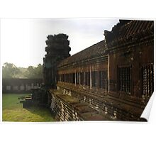 Sunrise on Angkor Wat III - Angkor, Cambodia. Poster