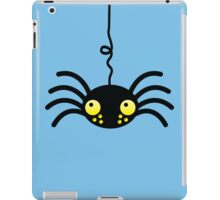 Little incy wincy spider hanging down from the neck cute! iPad Case/Skin