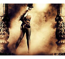 Mysterious woman Photographic Print