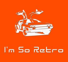 I'm So Retro - 80s Computer Game - Back to Future T-Shirt Kids Clothes