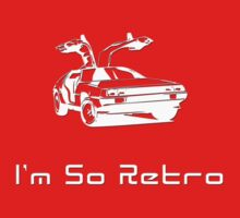 I'm So Retro - 80s Computer Game - Back to Future T-Shirt T-Shirt