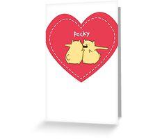 Pocky Greeting Card